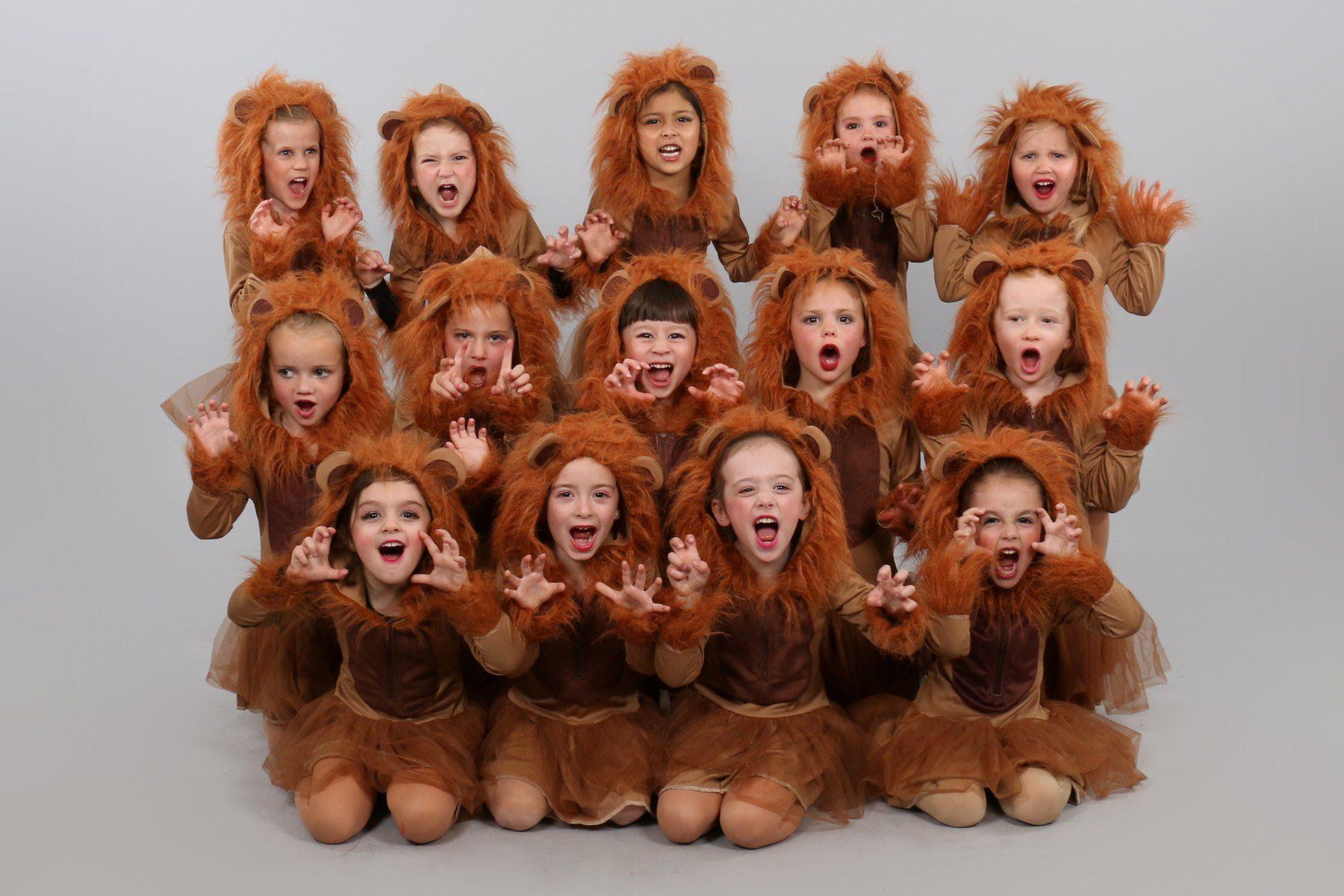 Preschool Ballet Lion King