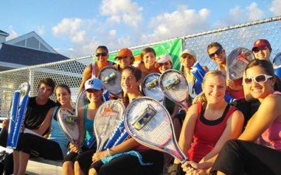 dancers-in-bleachers-tennis-rackets